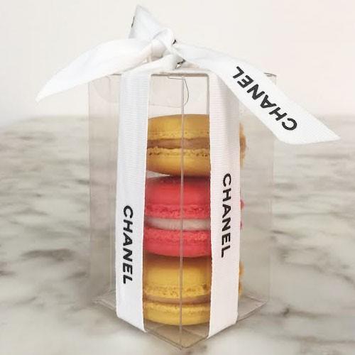 Clear Macaron Box for 3 Macarons($1.40/pc x 25 units)